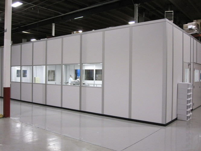 greenix modular cleanrooms