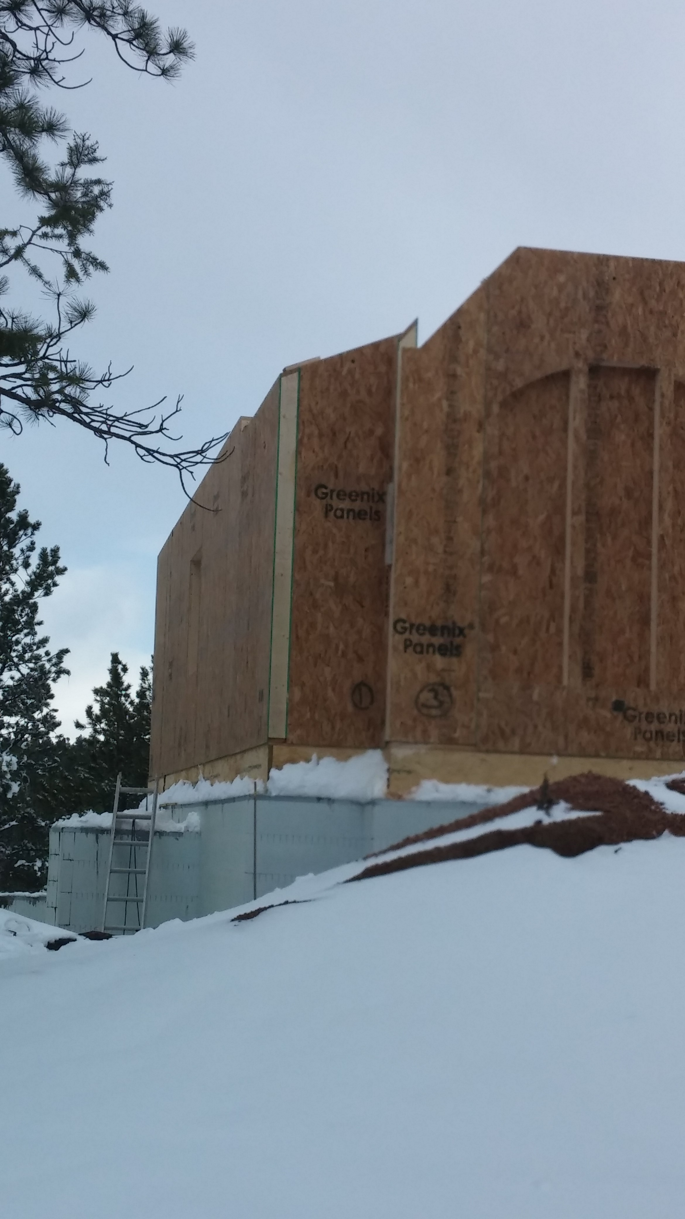 Featured project window and door panels first floor for Sip houses