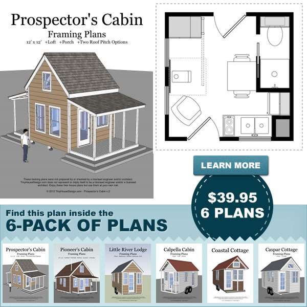 Tiny house plans and sips sip supply blog for Diy cottage plans